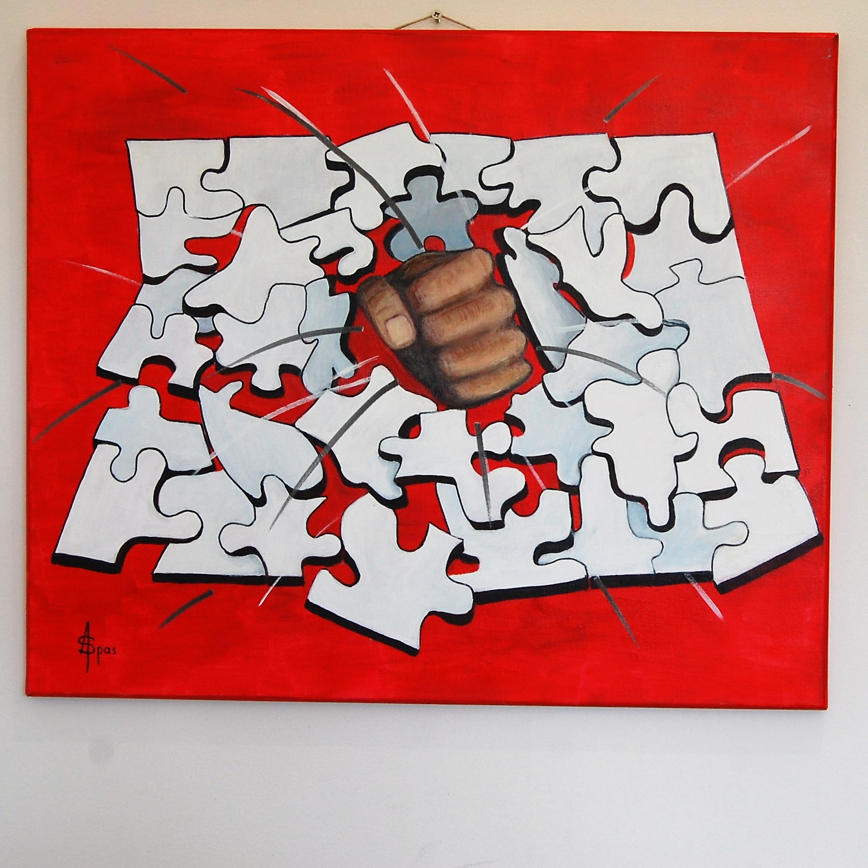 Punching puzzle 60x50